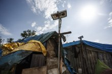 SELCO solar electric unit (Credit: Mallikarjun Katakol)