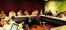 Conference-goers pack the LOD workshop at OKCon